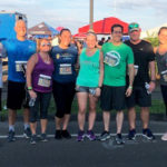 Brody Wilkinson PC participates in the Fairfield Police Department Sunset 5k